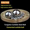 Precisão bolas de Liga de aço de tungstênio Carboneto de bola YG6 YG8 1 1.5 2 2.381 2.5 3 3.175 4 4.763 5 6 6.35 7 8 8.731 9 9.525 10 mm WC