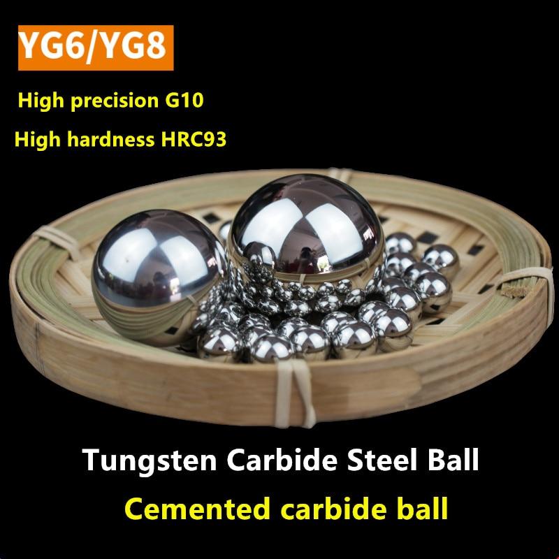 Precision Tungsten Steel Ball YG6 Carbide Alloy Balls YG8 1 1.5 2 2.381 2.5 3 3.175 4 4.763 5 6 6.35 7 8 8.731 9 9.525 10 Mm WC