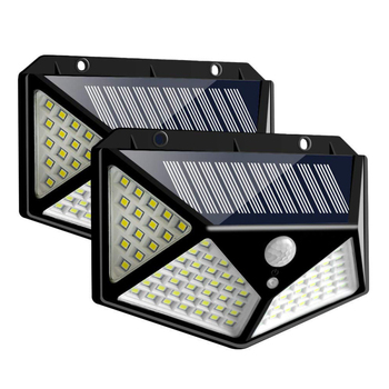 LED Solar Light outdoor lighting of garden security lamp spotlights waterproof Street wall Light solar panels with Motion Sensor 5