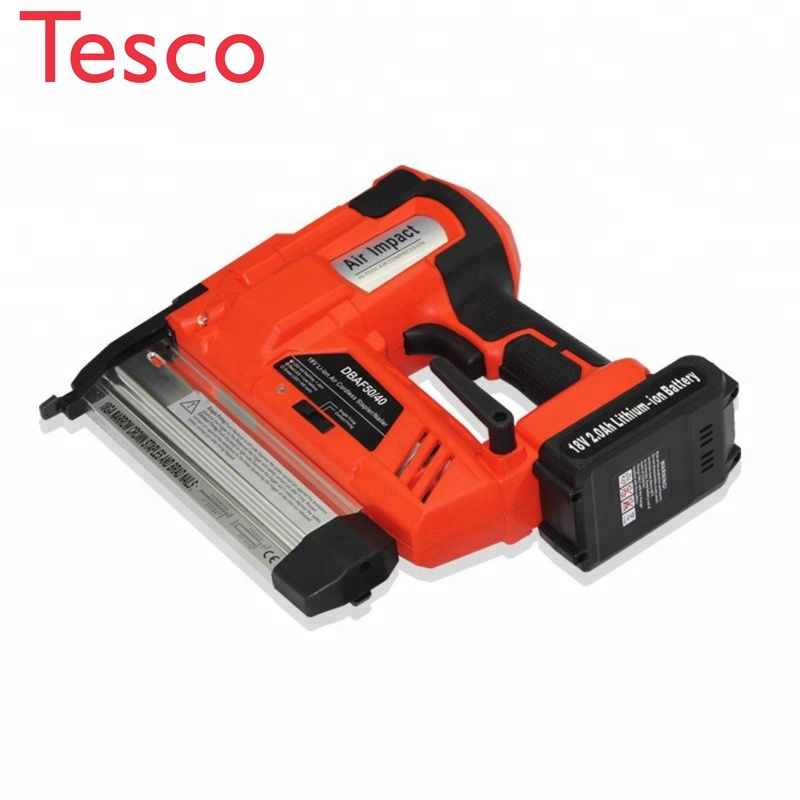 Hot Selling 18V Li-ion Air Cordless Nailer