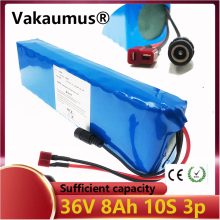 36V 8ah 10s3p 18650 lithium battery pack 500W high power and capacity 42V 7.8ah 36V suitable for electric bicycle scooter motorc liitokala 36v 8ah battery pack high capacity lithium batter pack include 42v 2a chager