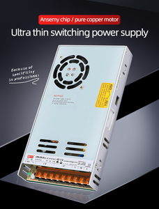 Image 1 - NVVV تحويل التيار الكهربائي 35 واط 50 واط 75 واط 100 واط 150 واط 350 واط LRS سلسلة رقيقة جدا LED سائق التيار المتناوب 110 فولت 220 فولت إلى 12 فولت 24 فولت تيار مستمر امدادات الطاقة