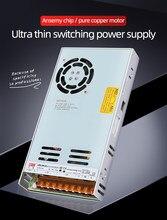 NVVV Switching Power Supply 35W 50W 75W 100W 150W 350W LRS series ultra-thin LED Driver AC 110V 220V to DC 12V 24V Single Output