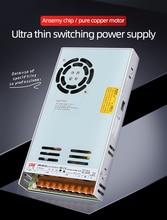 NVVV alimentation à découpage 35W 50W 75W 100W 150W 350W LRS série ultra mince LED pilote ca 110V 220V à 12V 24V alimentation en courant continu