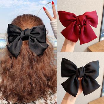 2020 New Arrival duża opaska na głowę z kokardą tkaniny elastyczne gumki do włosów kobiety dziewczęta akcesoria do włosów moda koreańska ozdoba do włosów akcesoria klips tanie i dobre opinie Iść na zakupy CN (pochodzenie) WOMEN RUBBER Cztery pory roku Dekoracji Dla dorosłych Nakrycia głowy Elastic Hair Bands Women 8IF0001690