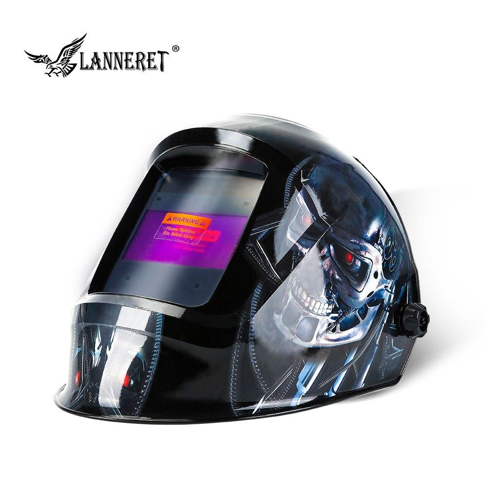 LANNERET  MMA MIG TIG Welding Mask Welding Helmet Eagle For Welding Machine For Soldering Welder Cap For Welding