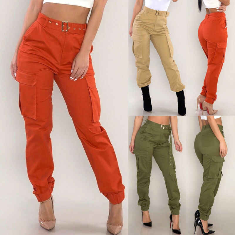 Pantalones Militares De Combate Para Mujer Pantalones Cargo Para Mujer Pantalones Y Pantalones Capri Aliexpress