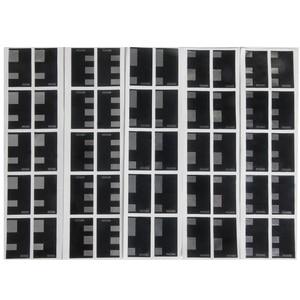 Image 1 - 10 sayfa 135 35mm dökme Film DX kod ISO 50 100 250 400 500 etiket el rulo etiket otomatik ISO tespit