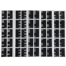 10 seiten 135 35mm Groß Film DX Code ISO 50 100 250 400 500 Label Hand Rolle Aufkleber Auto ISO erkannt