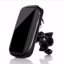 5.5 Inch MTB Road Bicycle Bike Bag Case Phone Holder brompton  Waterproof Motorcycle Handlebar Bracket Mobile Mount