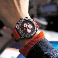 SWISH Design orologi sportivi uomo Top Brand lusso moda cronografo orologio da polso al quarzo cinturino in gomma impermeabile Relogio Masculino