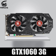 VEINEDA Graphics Card GTX 1060 3GB 192Bit GDDR5 GPU Video Card PCI-E 3.0 For nVIDIA Gefore Series Games Stronger than GTX 1050Ti(China)