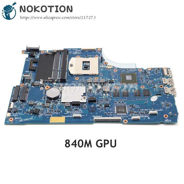 NOKOTION placa base para ordenador portátil, placa base GeForce 749753 M graphics 501 749753 840 001 6050A2548101 MB A01 para Hp Envy 15 15T J000 15T J100