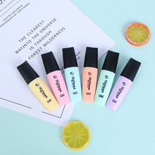 Mini Colorful Highlighters Pastel Markers 6 Colors Single Text Focus Marker Pens for School Office