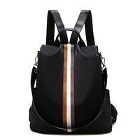 Casual Women Backpacks Waterproof Oxford Back Pack for Girls Simple Style School Bags Youth Ladies Daily Bagpack Mochila Mujer