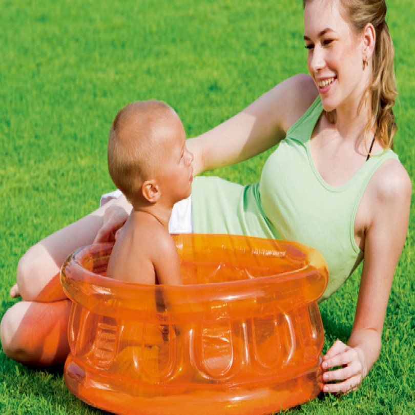 64×25CM universal travel family kids bath tub inflatable hot foot spa bucket free shipping