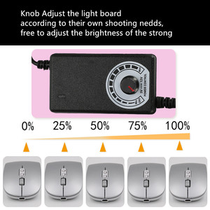 Image 5 - SANOTO photo box  LED lighting Photo profession fill light Softbox lamp 5500k For Mini  Photo Studio Photography Light Box