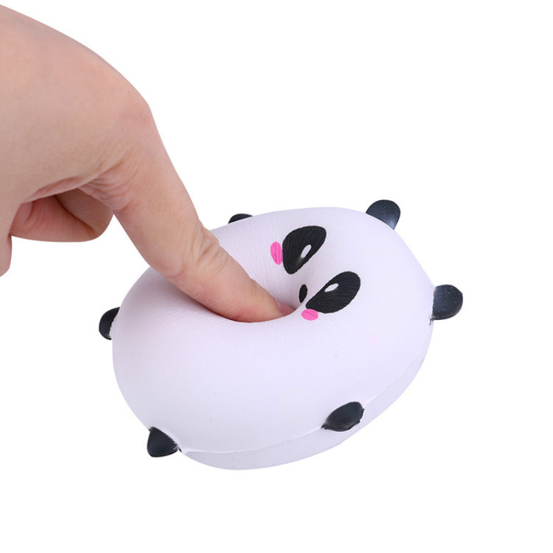 Squeeze Squishy Toy Pets Animal Pu Memory Foam Pressure-relief Vent Toys (9cm)