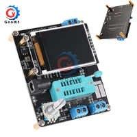 GM328A LCD Digital Transistor Tester NPN/PNP detect Diode Capacitance Resistor ESR Multimeter PWM Signal Generator SMT Soldering