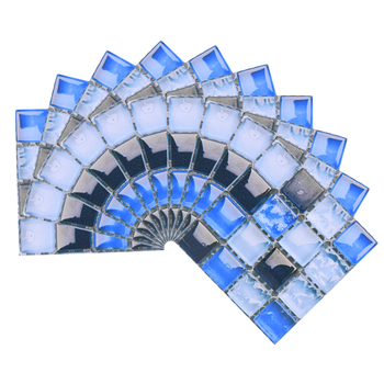 10*10cm Mosaic Self Adhesive Tile Wall Stickers Vinyl Bathroom Kitchen Home Decoration DIY PVC Stickers Decals Wallpaper 10pcs 10