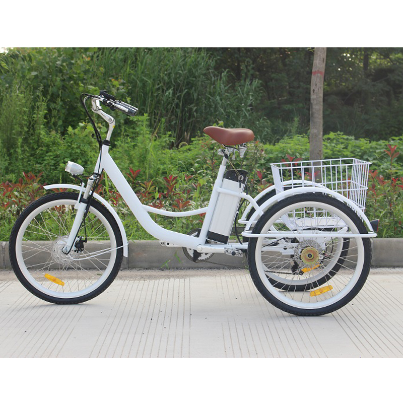Hot Sale 50 W Motor Electric 6 Speed Adult Tricycle Bike Used For Cargo Transportation/Express Delivery/old People/shopping