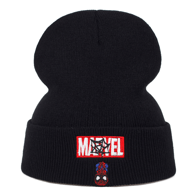 2019 New Marvel Letter Embroidery Wool Hat Autumn And Winter Fashion Wild Hats Men And Women Universal Caps