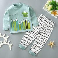 Детские пижамные комплекты с длинным рукавом - 646₽ #5