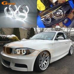 Для BMW 1 серии E82 E88 E87 E81 2006-2013 ксеноновая фара отличный DTM стиль ультра яркий светодиодный комплект ангельских глаз