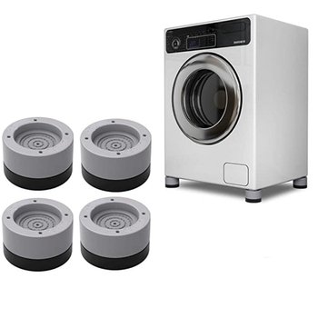 4 PCS Foot Pads Washing Machine Anti Vibration Washer Feet Pad Anti Slip Rubber Foot Pad For Washing Machines And Dryers
