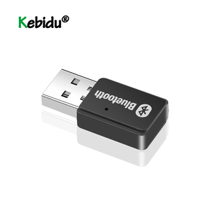 USB Adapter Bluetooth 5.0+EDR AD2P Transmitter Wireless Stereo Audio Music Adapter For Windows 7/8/10/XP Linux Computer PC