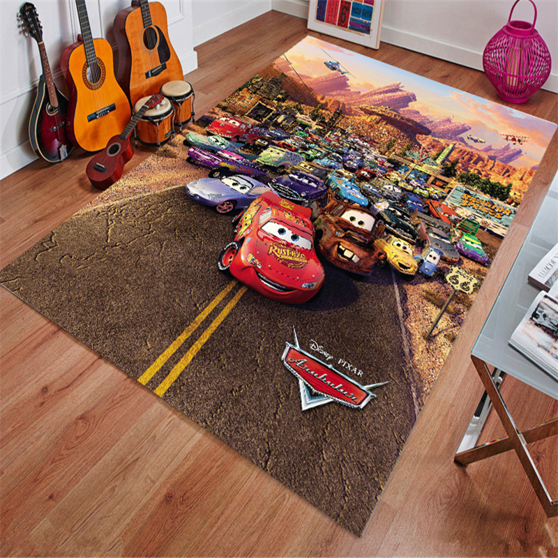 Cars Mat Bathroom Children Boy Girl Carpet Hallway Doormat Anti - Slip Bathroom Carpet Absorb Water Kitchen Mat/Rug