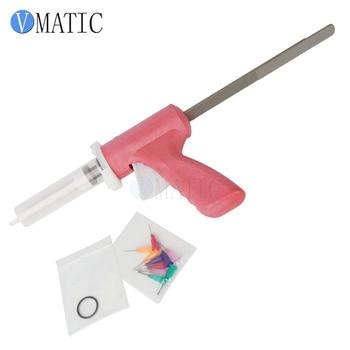 Free Shipping 55 cc 55 ml Manually Dispensing Caulking Gun With Syringe & Needles