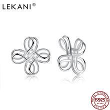 Lekani 925 стерлингового серебра минималистский Творческий китайский