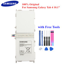 """100% Originele Tablet Batterij EB BT530FBE voor Samsung Galaxy Tab 4 10.1 """"SM T530 T531 T533 T535 T537 P5220 EB BT530FBC 6800mAh"""