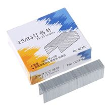Heavy-Duty Staples School-Supplies Office 1000pcs/Box Metal for Stationery Wholesales