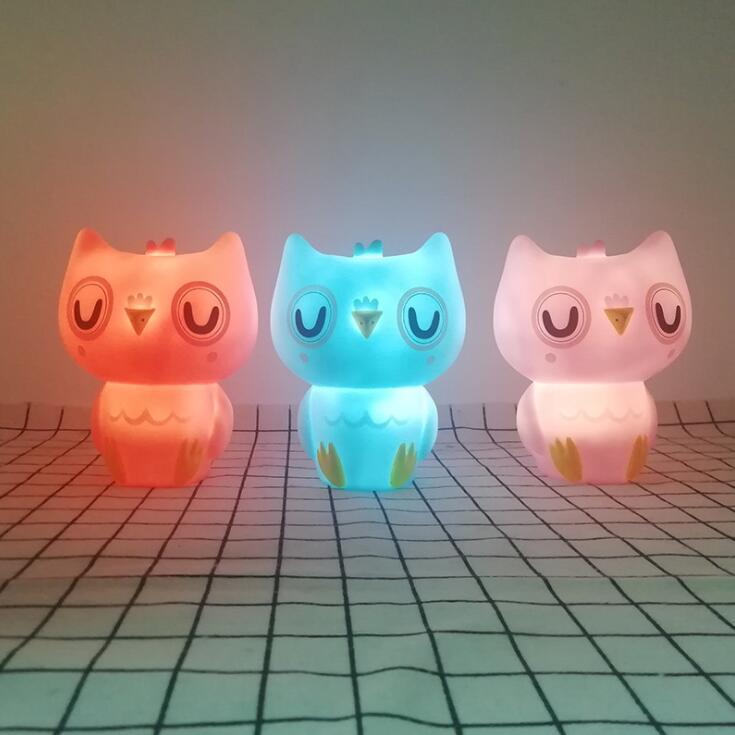 New Ins Cartoon Luminous Creative Enamel Product LED Night Light