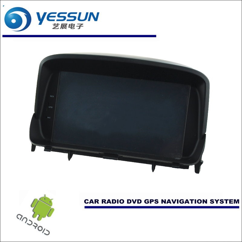 YESSUN Auto Android Navigation Fü<font><b>r</b></font> Opel/Bitteren/Vauxhall/<font><b>Mokka</b></font> X Radio Stereo CD DVD Player GPS Navi BT HD Screen Multimedia image