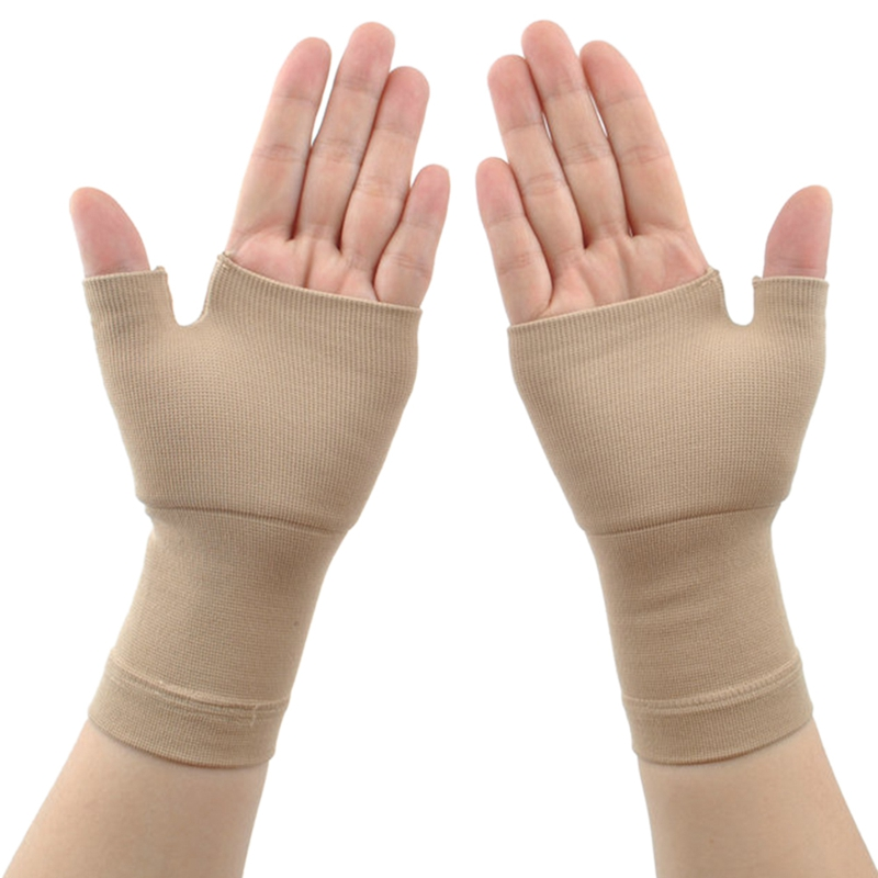 Medical Elastic Belt Thumb Gloves Sports Protection Joint Pain Health Riding Fitness Protection Palm Wrist Gloves
