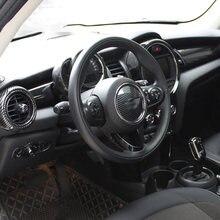 Autocollant de décoration de panneau de commande centrale de voiture, pour MINI ONE COOPER F55 F56 F57, accessoires de Modification de style intérieur