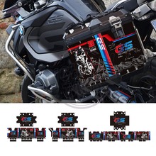 Decal-Case Sticker RALLYE F800GS R1250GS Motorcycle Reflective for BMW Panniers Aluminum