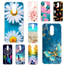 Phone Case For LG K40 Case Silicone Back Phone Cover For LG K40 K12+ K12 Plus 5.7 inch Cover Soft TPU Painted Cover Cases Bumper cool pattern case for prestigio wize q3 psp3471 duo case cover clear soft silicone phone cover for prestigio wize q3 cover cases