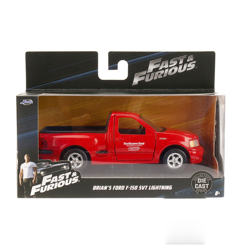 1/32 Fast And Furious Cars Brian's FORD F150 SVT Lightning Simulation Metal Diecast Model Cars Kids Toys