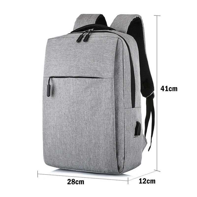 Jodimitty Mới Laptop USB Ba Lô Học Có Túi Chống Trộm Nam Backbag Du Lịch Daypacks Nam Giải Trí Ba Lô Mochila