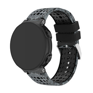 Image 2 - Yayuu Printed Silicone Watch Band For Garmin Forerunner 220/230/235/620/630/735XT Bracelet Replacement Wrist Strap Buckle Band
