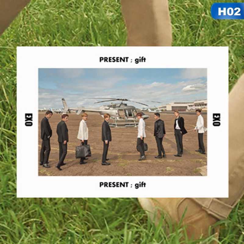 EXO הוואי קיץ PVC ברור תמונה כרטיס SEHUN BAEKHYUN CHANYEOL Photocard
