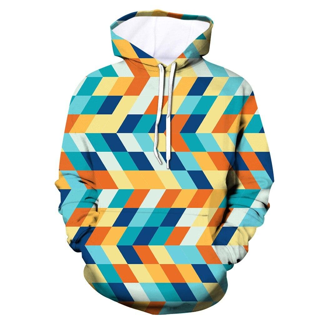 Men's New Style 3D Printed Hoodie Hooded Loose Long Sleeve Sweatershirt Printing Pullover Sweatshirt Hip Hop Streetwear 8.1