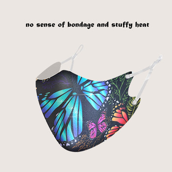 5 máscaras de moda Unisex para adultos máscara de mariposa máscara de...