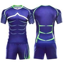 Форма для регби Мужская oem сублимационная тренировочная одежда