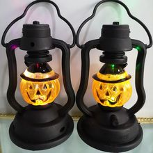 Halloween Pumpkins Witch Castle LED String Lights Lanterns Lamp Party Supplies Halloween Decor Haunted House Decoration