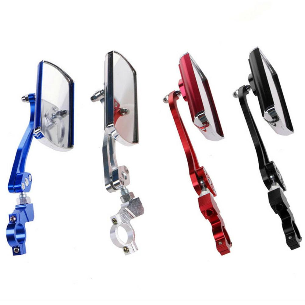 Bicycle Rear View Mirrors Bike Cycling Wide Range Back Sight Reflector Angle Adjustable Mountain Handlebar Side Rearview Glasses